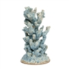 sea blue coral sculpture made goods