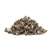 pewter oyster shell pile sculpture