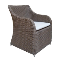 Luxury Designer Padma's Plantation Outdoor Porto Fino Dining Chair