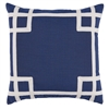 Rio Navy Outdoor Pillow - Luxury USA-Made Home D�cor | BSEID
