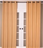 Butter Cream Burlap Curtain (MULTIPLE SIZES)