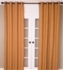 Mustard Burlap Curtain (MULTIPLE SIZES)