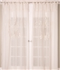 Linen Sheer Lace Curtain (MULTIPLE SIZES)
