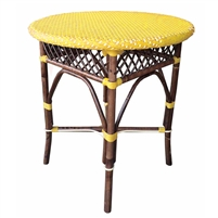 Paris Bistro Table yellow