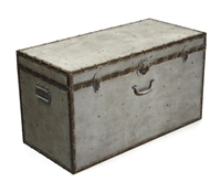 Vintage Inspired Trunk Box - Iron