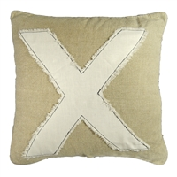 """X"" Stitch Pillow"