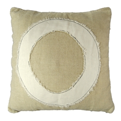 """O"" Stitch Pillow"