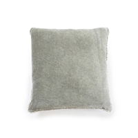 Luxury Designer Sugarboo & Co. Elephant Velvet Pillow Pom Pom Trim