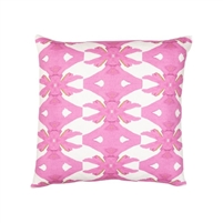 pillow watercolor colorful pink white patterned