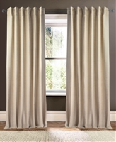 Creative Threads linen curtains drapes lined plain dark gray white wheat silver rust blue natural khaki ivory turquoise aqua green maroon cranberry antique gold almond
