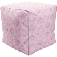 Indoor Outdoor pink pouf