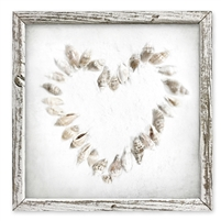 Sweet Gumball Heart Seashells Shelf Art - Unique Gifts for Moms