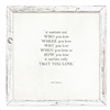 "John Lennon Quote Art ""It Matters Not"" - Thoughtful Home Décor Gifts"