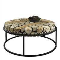 black and off-white coffee table, contemporary teak coffee table,round teak coffee table