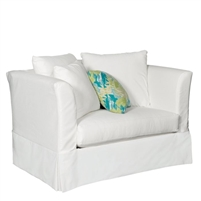 oversized chair slipcover white