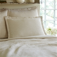 Hudson Charcoal Stripe Bedding Collection