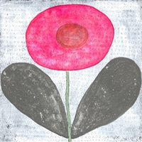Happy Flower Art Print