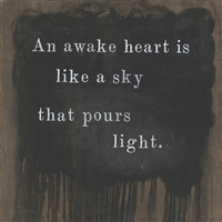 An Awake Heart Art Print