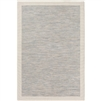 rug indoor/outdoor area rug light blue taupe cream border no pile