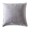"pillow linen rectangle large ocean grey/blue feather down insert 1/2"" flange"