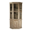 Display + Storage Corner Cabinet - Edgar
