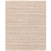 cream area rug organic woven wool rectangle