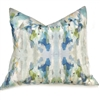 accent toss occasional pillow polyester feather down insert colorful blue green gray
