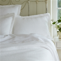 Hudson White Bedding Collection