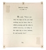 Dalai Lama passage wall art canvas tarp off white inspirational encouragement