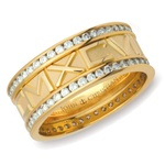 Numeros™ Diamond Eternity - 14K Single or Two-Tone