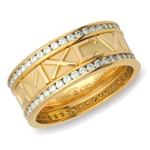 Numeros™ Diamond Eternity - 18K Yellow Gold