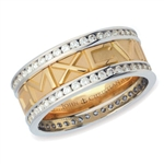 Numeros™ Diamond Eternity -Two-Tone 18K & Platinum