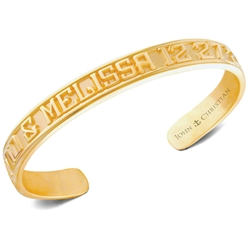 Expres™ Cuff Bracelet - 14K Yellow or White