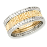 Expres™ Diamond Eternity Band - 18K/Platinum Two-Tone