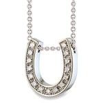 Hidden Treasures™ Diamond Horseshoe - Platinum