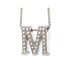 Hidden Treasures™ Diamond Birthday Initial (Category 3) - 14K White