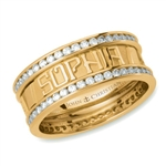 Continuous Life™ Diamond Eternity Band - 18K Yellow