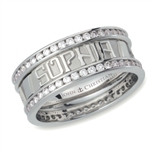 Continuous Life™ Diamond Eternity Band - Platinum