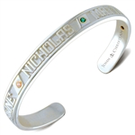 Continuous Life™ Cuff Bracelet - Sterling Silver