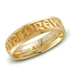 Medium Posey™ Ring - 18K Yellow