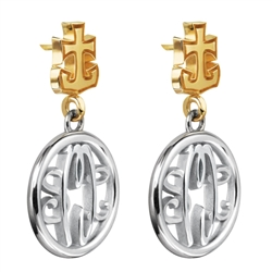 BriteLife™ Monogram Earrings
