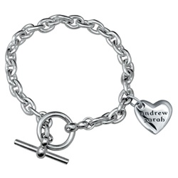 In My Heart Bracelet - Sterling Silver