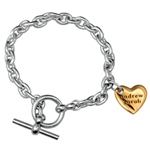 In My Heart Bracelet - 14K & Sterling