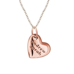 In My Heart Drop Necklace