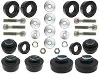 1967 - 1972 GM Body Mount Kit, Rubber & Hardware