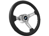 VSW S6 Sport Leather Steering Wheel Kit, Classic Ford Oval