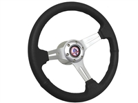 Ford Mustang Steering Wheel Brushed Aluminum Cobra Kit