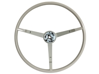 1963-64 Ford Reproduction White Steering Wheel