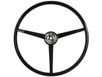 1965 - 1966 Ford Reproduction Black Steering Wheel