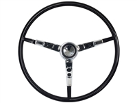 1964-65 Ford Falcon Black Steering Wheel Kit